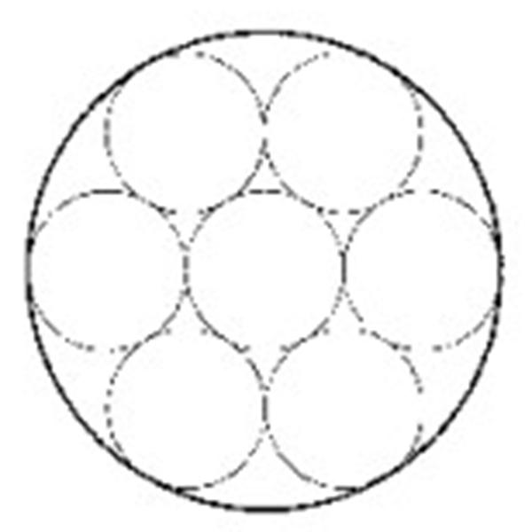 镀锌钢绞线1×7