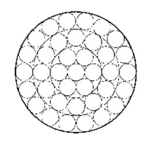 单股钢丝绳1×37