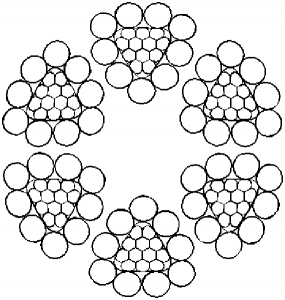 异型股钢丝绳6×10TS+FC