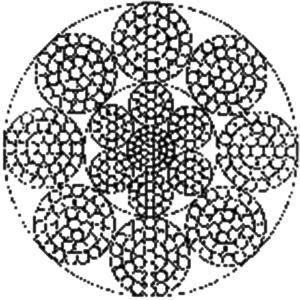 粗直径钢丝 8×37+IWRC