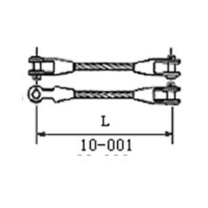 钢丝绳热浇铸、冷浇铸索具(钢芯)