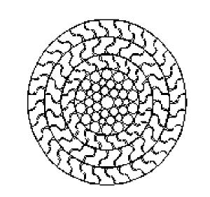 密封钢丝绳 三层Z型钢丝