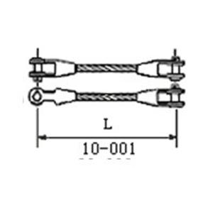 钢丝绳热浇铸、冷浇铸索具(纤维芯)