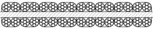 平衡用扁钢丝绳 P8×4×7