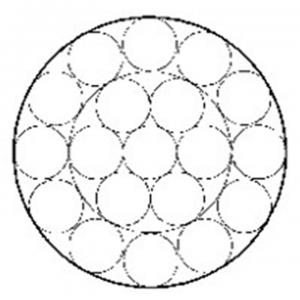 镀锌钢绞线1×19