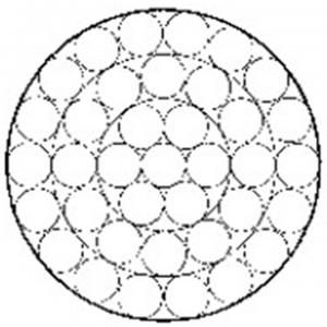 镀锌钢绞线1×37